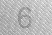 lehce stříbrný papír na vizitky s kosočtvercovou strukturou