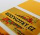 novinka zlatý papír na vizitky